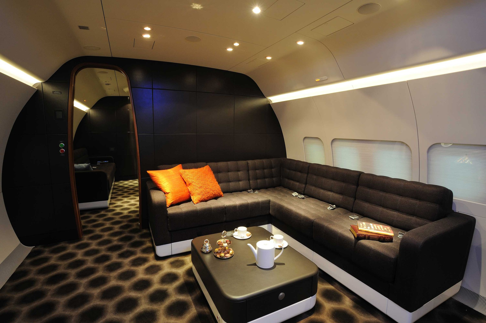 BBJ Private Aircraft Interior