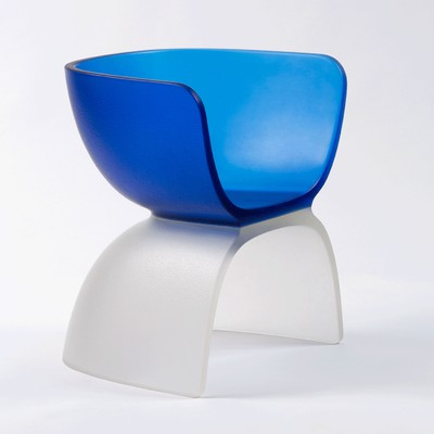Cast Glass Chair <br>Gagosian Gallery 2019