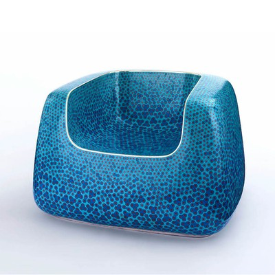 Cloisonné Blue Chair <br>Gagosian Gallery 2019
