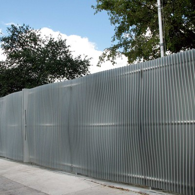 Dash Fence <br>Design Miami 2007