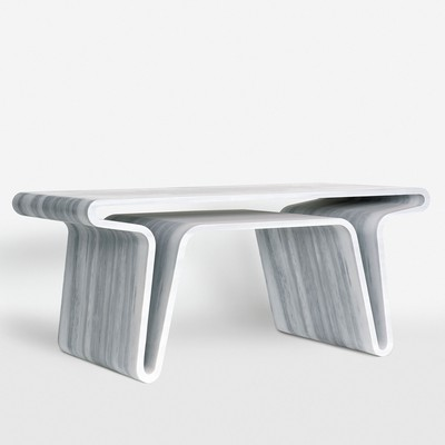 Extruded Table 3<br>Gagosian Gallery 2008