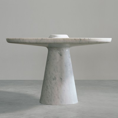 Lathed Table <br>Gagosian Gallery 2007