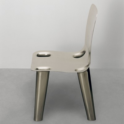 Nickel Chair <br>Gagosian Gallery 2007