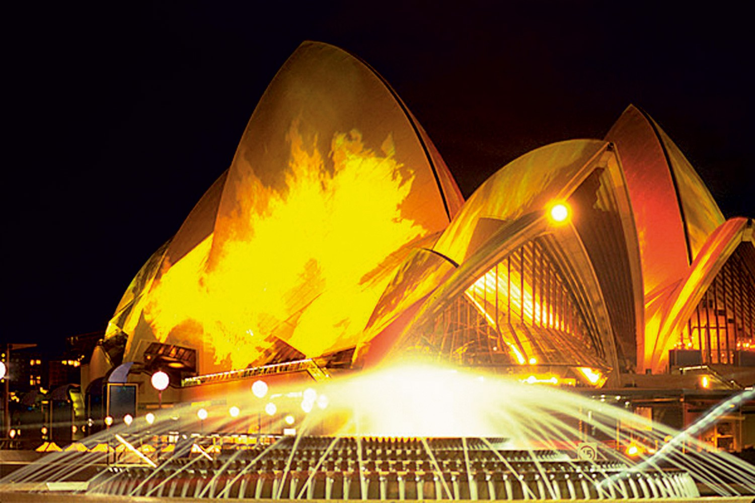 Opera House Olympic Lighting Event