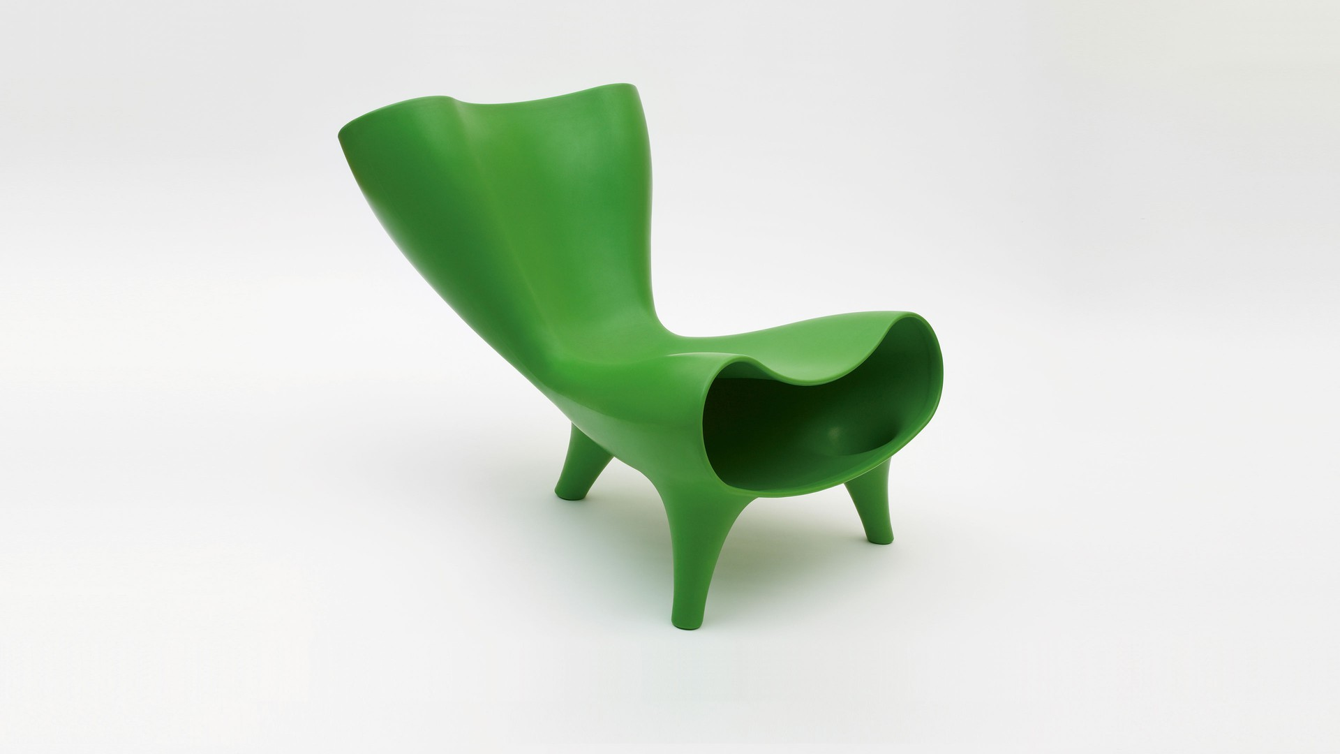 Plastic Orgone Chair