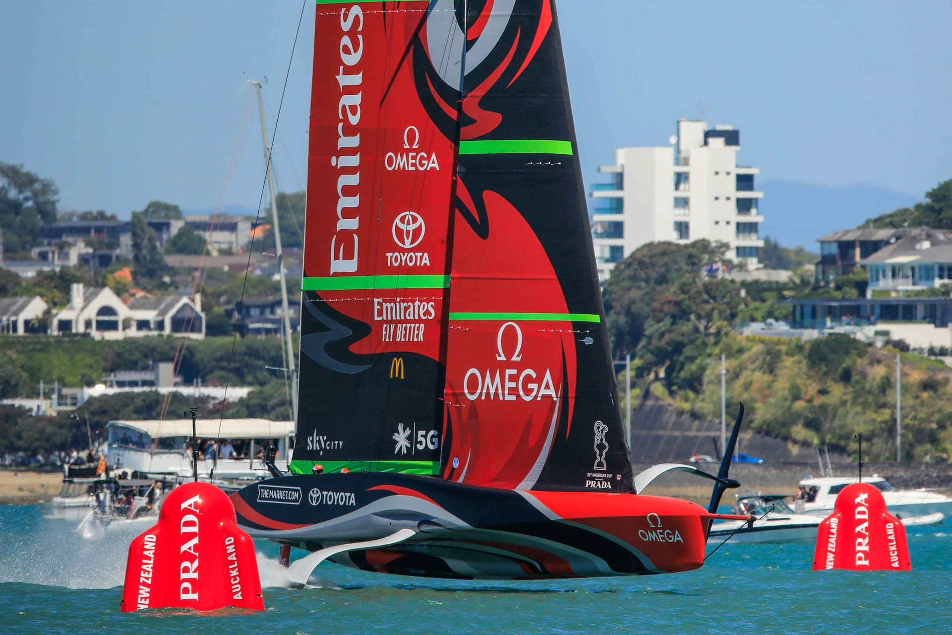 36th America's Cup - The Prada Cup & Logo