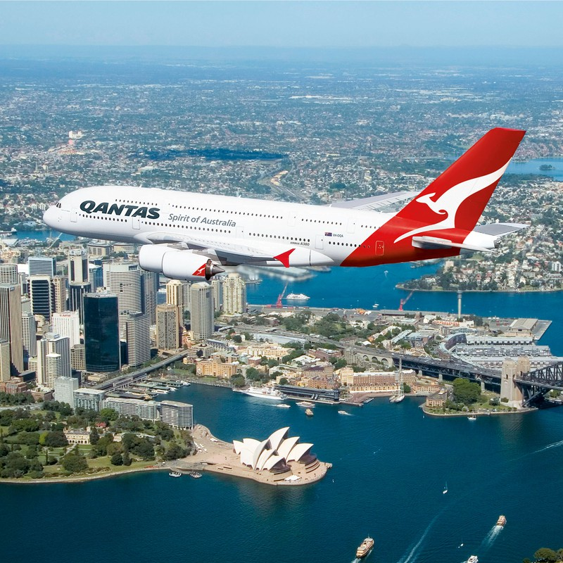 Qantas A380<br>Qantas Airways Ltd 2008