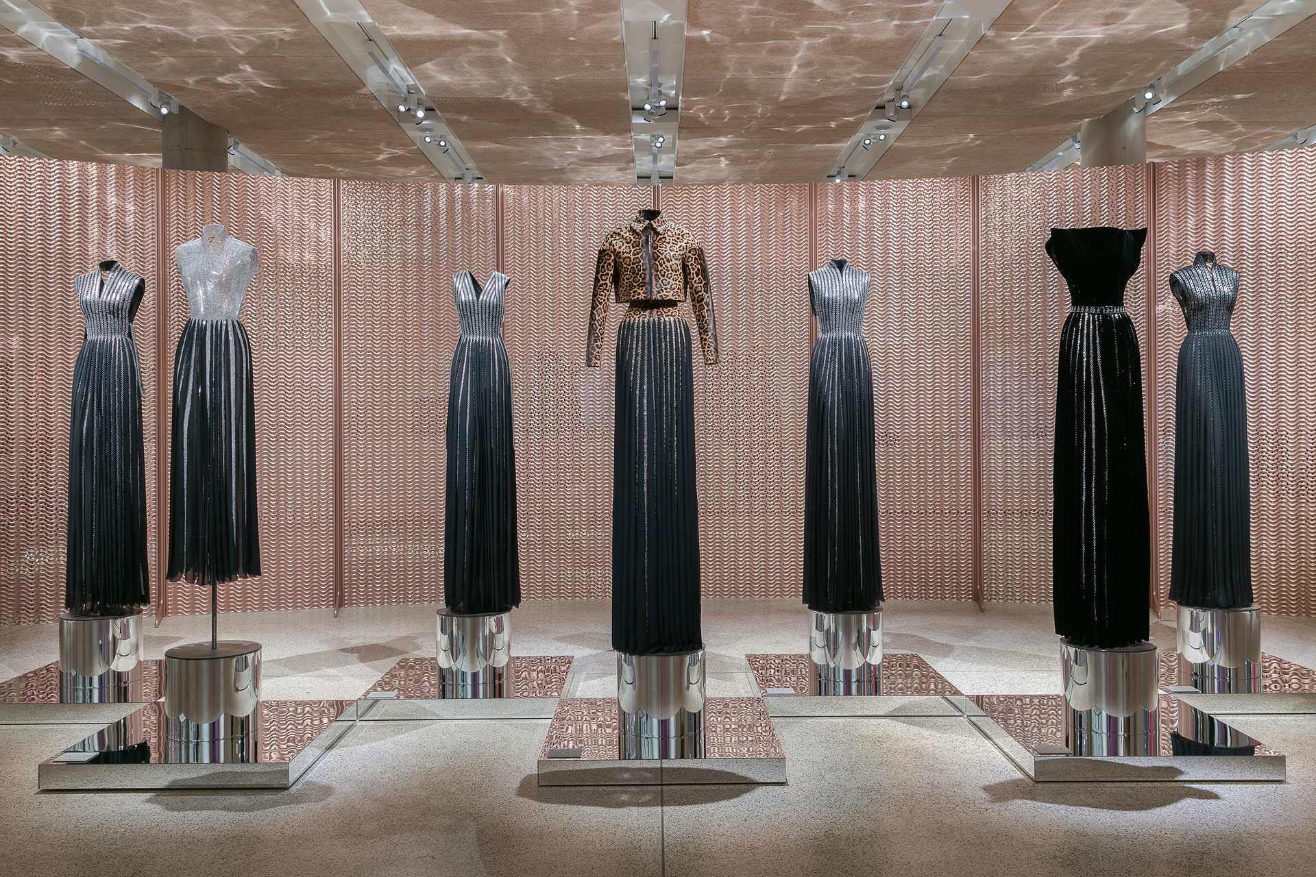 Screen for Azzedine Alaia: The Couturier at Design Museum London