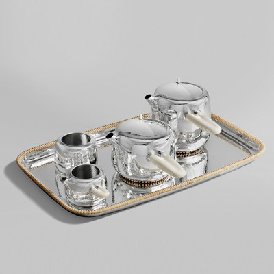 Sterling Silver Tea Service<br>Georg Jensen 2015