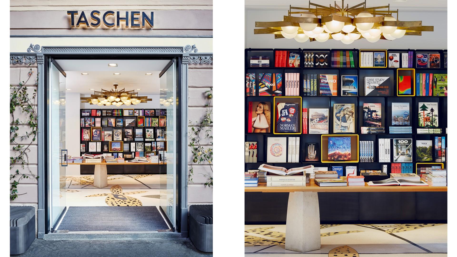 Taschen Milan Store Furniture Amp Display Systems Marc