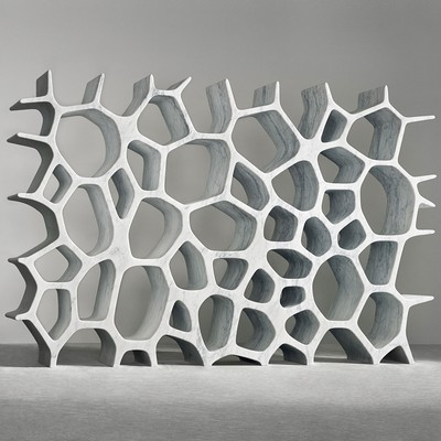 Voronoi Shelf <br>Gagosian Gallery 2007