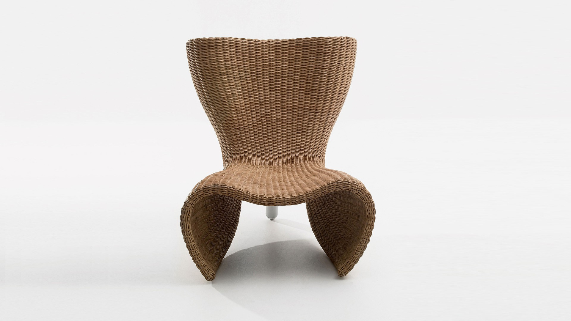 Wicker Chair and Lounge